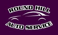 round hill auto service logo